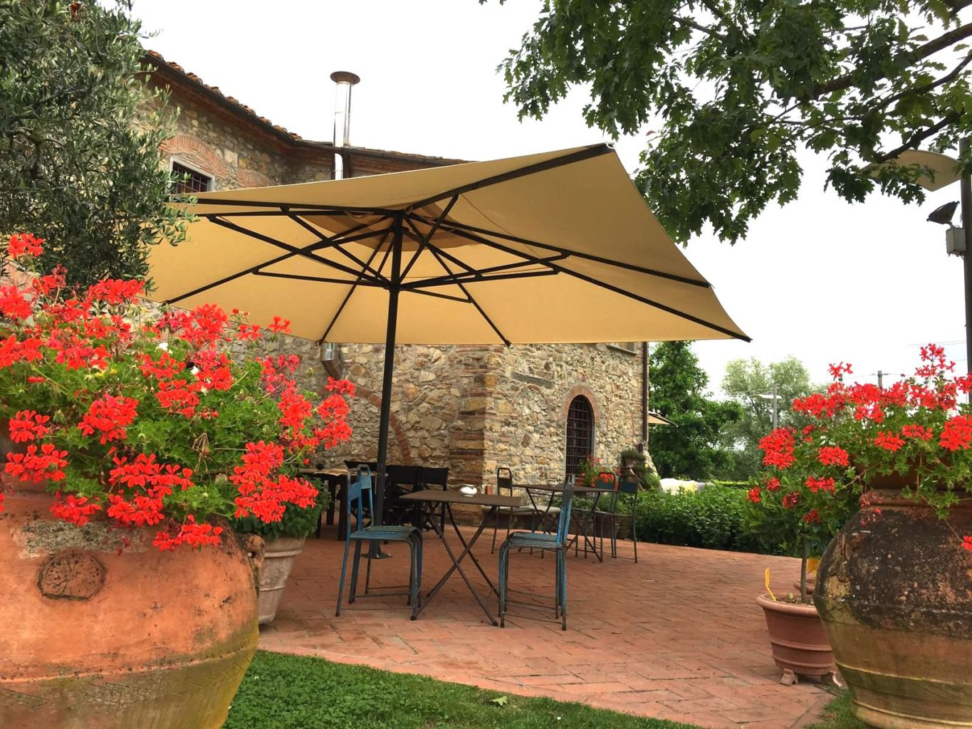 Large Garden Umbrella Luxury